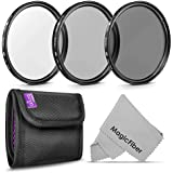 72MM Altura Photo Professional Photography Filter Kit (UV, CPL Polarizer, Neutral Density ND4) for Camera Lens with 72MM Filter Thread + Filter Pouch
