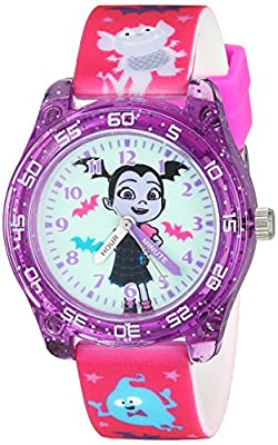 Disney Girl's Quartz Plastic Casual Watch, Color:Pink (Model: VMP4007) by Disasternecessities