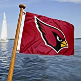 WinCraft Arizona Cardinals Boat and Golf Cart Flag