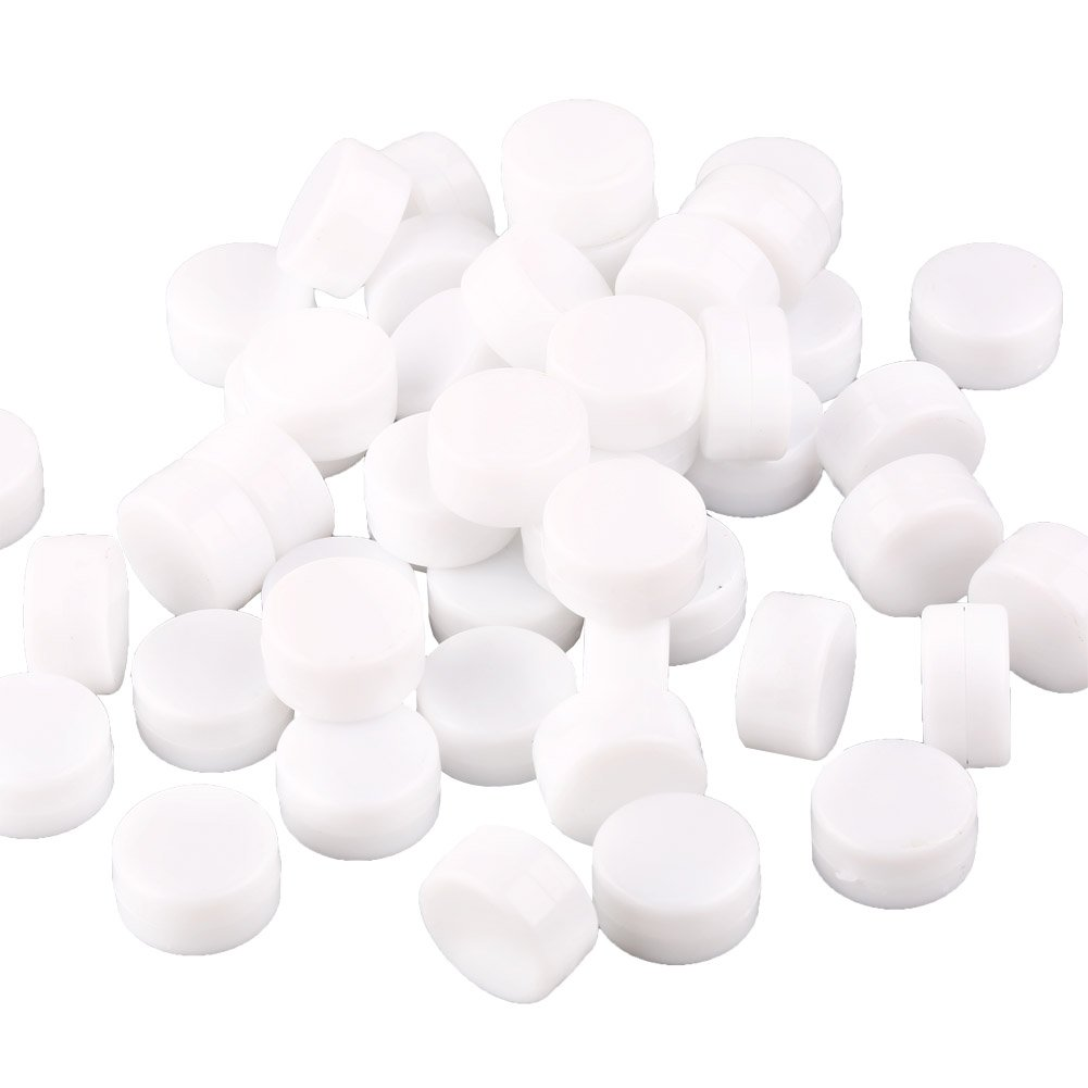 VERY100 Lot 50Pcs Toy Rattle Box Repair Fix Toy Noise Maker Insert Pet Baby Toy Squeaker 22mm