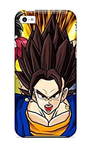 Sanp On Case Cover Protector For Iphone 5c (goku And Vegeta )