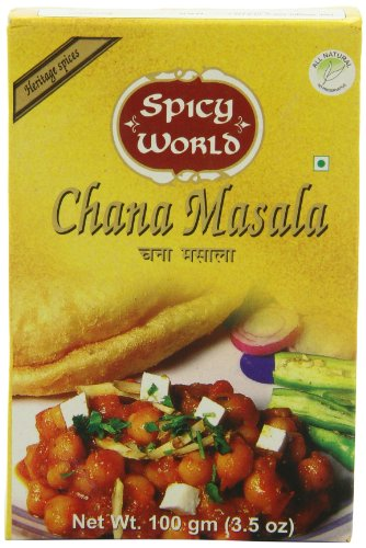 Spicy World Chana Masala, 3.5-Ounce Boxes (Pack of 10)