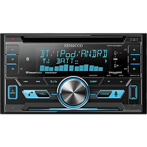 Kenwood DPX502BT Double Din Interface Bluetooth product image