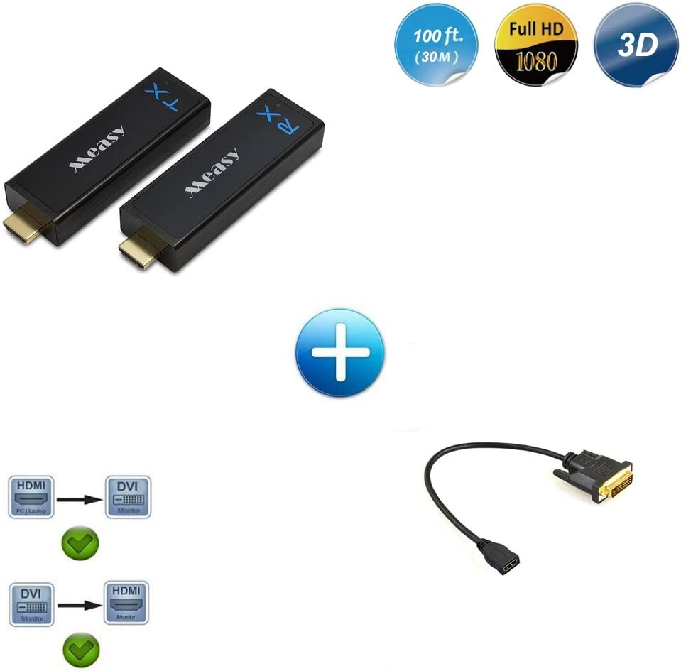 Measy Csw110 Wireless Hd Extender Set W2h Nano Dvi Zu Elektronik