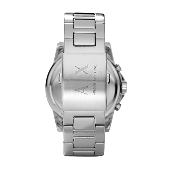 b5a8ab894cdd Buy Armani Exchange Outerbanks Analog Silver Dial Men s Watch - AX2058  Online at Low Prices in India - Amazon.in