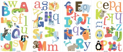 Baby room frog letters