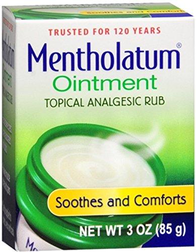 Mentholatum Ointment 3 oz (Pack of 2)