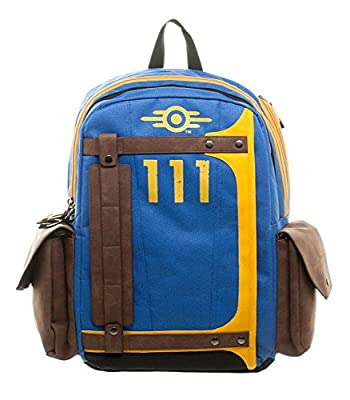 Fallout Vault Tec Suit Up 111 Armored Laptop Backpack from BioWorld