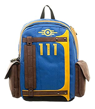 Fallout Vault Tec Suit Up 111 Armored Laptop Backpack 0