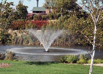 Kasco Marine 4400HVFX100 1HP - 240V Aerating Fountain - 100Ft Power Cord