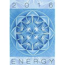 Energy Wall Calendar 2016 - Artistic Calendar - Shapes Calendar - Poster Calendar by Helma
