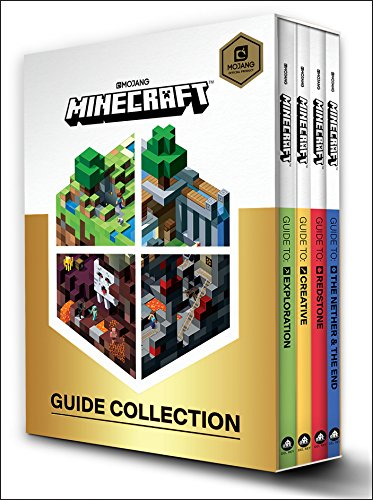 Minecraft: Guide Collection 4-Book Boxed Set: Exploration; Creative; Redstone; The Nether & the End -