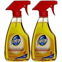 Pledge Revitalizing Oil With Natural Orange Oil - 16 oz - 2 pk