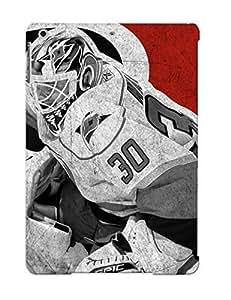 Awesome 39337771368 Crazylove Defender Tpu Hard Case Cover For Ipad Air- Hockey Cam Ward Carolina Hurricanes
