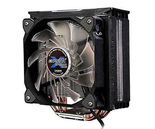 ZALMAN CNPS10X Optima II Black, Intel 9th Gen, AMD Ryzen Compatible, Spectrum RGB LED Lighting Effect, Dual Blade Fan