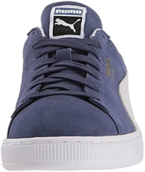 Puma Suede Classic Sneaker, Blue Indigo White, 9.5 M Us 3