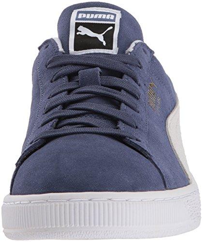 Indigo Suede puma Sneaker PUMA Blue White Classic O0T7qF