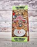 ilyas Gonen Dibek Ground Turkish Coffee/Plain Dibek and 19 Different Flavored (100g / 3,5oz) (Apple Flavored Ground Turkish Coffee) -  Dibek Kuru Kahve