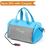 Causalyg 20-Can 12V DC Soft Portable Electric Cooler/Warmer 18 Liter Tote Bag with Thermoelectric System For Camping, Picnic