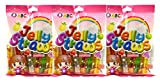 Funny Hippo Jelly Straws, Assorted Natural Fruit Flavors 12 Pieces - 240 g (Pack of 3 - 36 Pieces)