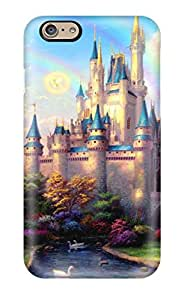 Shock-Absorbing Hard Cell-phone Cases For Iphone 6 (nmb2950Mmzy) Customized High-definition Thomas Kinkade Disney Paintings Pictures