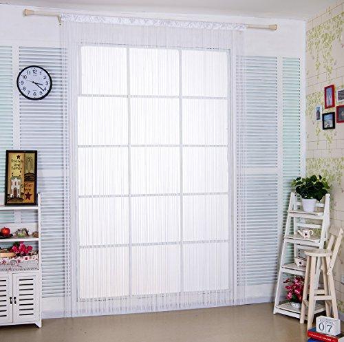 Taiyuhomes Cute Spaghetti String Curtain Panel for Home Deco