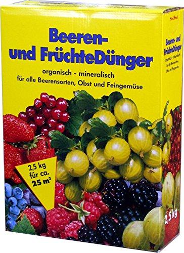 # 5kg Beerendünger /& Früchtedünger,Obst,Erdbeeren,Dünger,Beeren 2x 2,5 kg