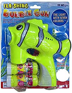 Flashing Electronic Bubble Gun
