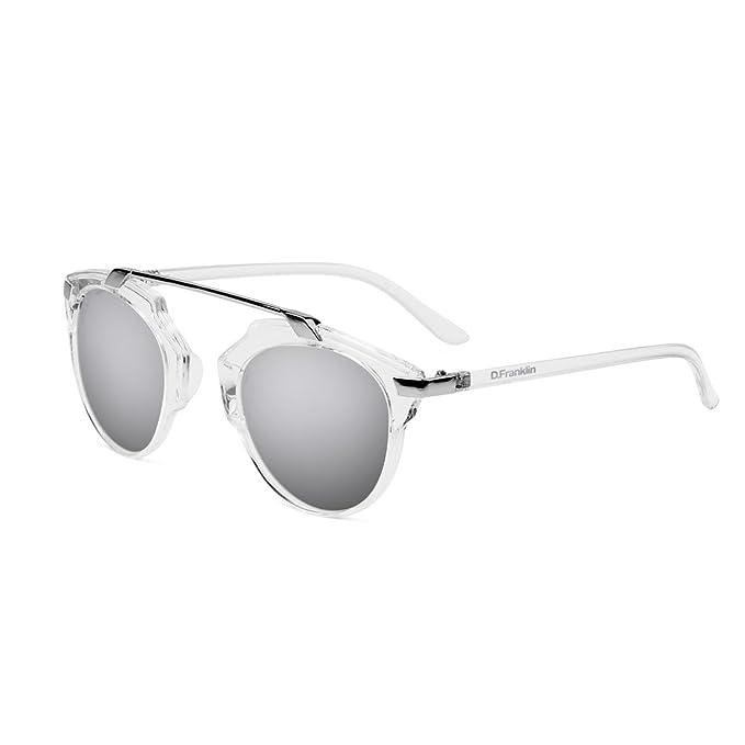 D. Franklin Dubai Gafas de Sol, Transparente, 54 Unisex ...