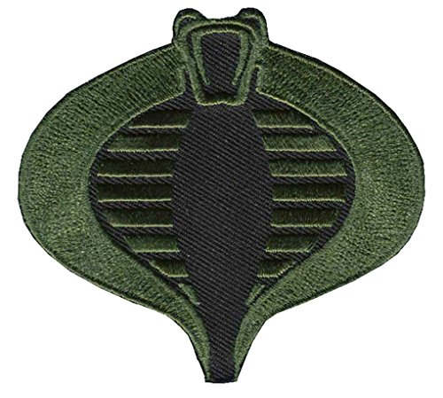 Velcro Patch Camo Green Cobra Tactical Morale by Titan One