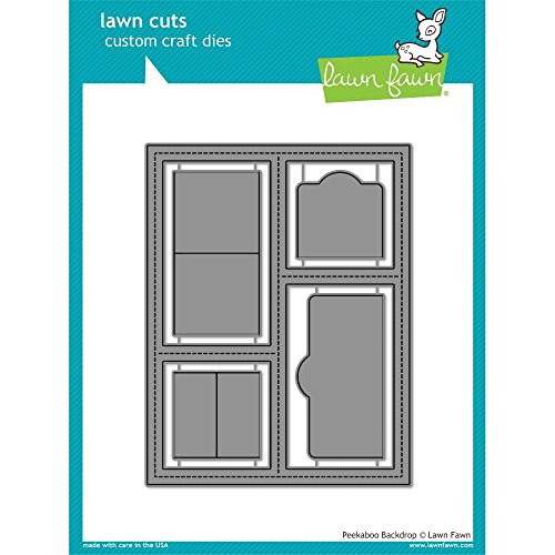 Lawn Fawn Lawn Cuts Custom Craft Die LF1626 Peekaboo Backdrop by Lawn Fawn