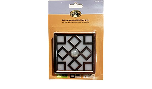 Motion Sensor, Battery Operated Decor LED Night Light - Bronze - - Amazon.com