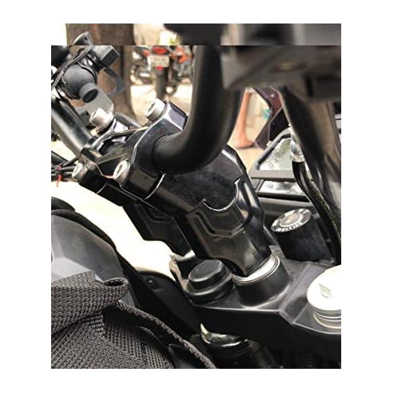 RoadRash Dominar 400/250 Handlebar Height Riser (Black)