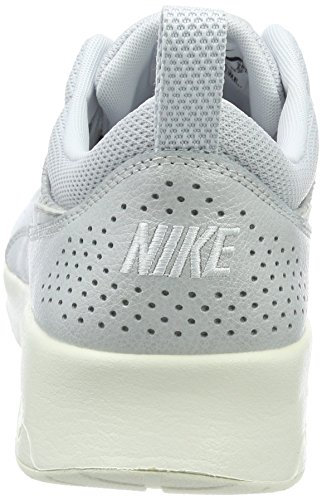 Femme Premium Thea Platinum Sneakers Max Nike Platinum Air Argent Basses Pure Leather Metallic xtqR0g6gwO