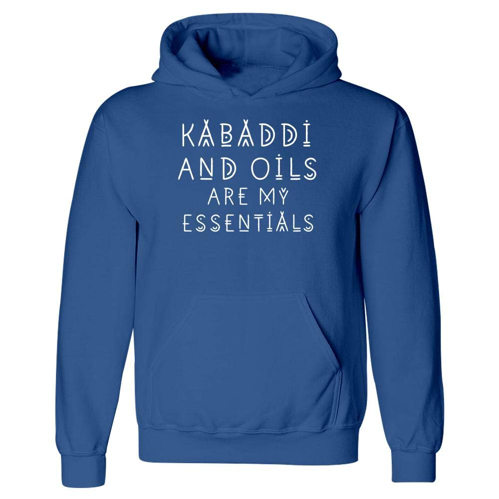 Hoodie Kabaddi Lover and Oils are My Essentials