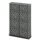 Chloe Rossetti Gabion Basket Wall with Lids Galvanized Wire 59''x39.4''x11.8''Mesh size: Approximately 3.9'' x 2''; 11.8'' x 7.9'' (L x W)
