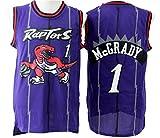 Men's Adult #1 Tracy McGrady Jersey Purple