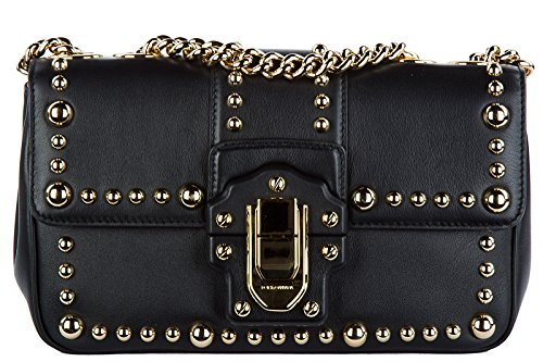 Dolce&Gabbana women's leather shoulder bag original lucia - Shopping And Dolce Gabbana Bag