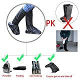 Shoes Boots Cover - Reusable Waterproof Foldable