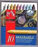 Caran D'ache Neocolor II Crayons Tin Case Set of 10 - Metallic Colors (7500.910 )