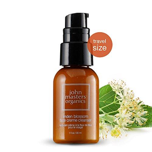John Masters Organics - Linden Blossom Face Creme Cleanser - Gentle Face Wash & Moisturizer for Sensitive Skin - Makeup Remover with Organic Rose Flower Oil - 1 -