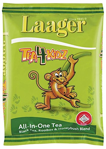 Laager South African Rooibos Tea, 40 Count, 100% Natural Tea, Caffeine Free, Healthy and Pure, Herbal Tea. Rich in Vitamins and Antioxidant