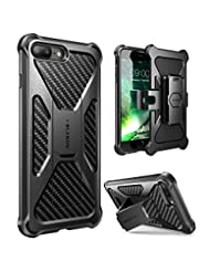 iPhone 8 Plus Case, i-Blason Transformer [Kickstand] Apple iP...