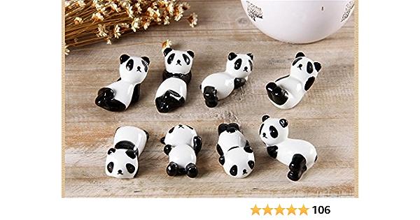 Cute Panda Chopstick Rest Novelty Lovely Kawaii Gift China Set of 1 2 or 4 UK