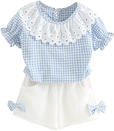 Mud Kingdom Little Girls Outfits Boutique Cute 3D Floral Summer