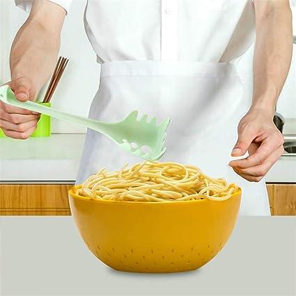 Cuill/ère /à spaghetti en acier inoxydable pour cuill/ère /à nouilles