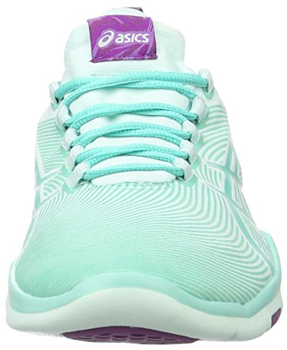 Asics Gel-Fit Sana 2, Zapatillas Deportivas para Interior para Mujer Turquesa (Soothing Sea/cockatoo/phlox)