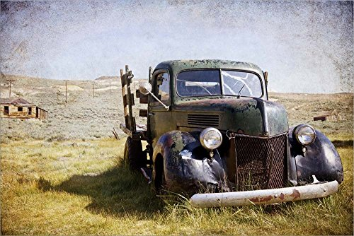 - Ford V8 Jessica Rogers Photography Laminated Art Print, 27 x 18 inches