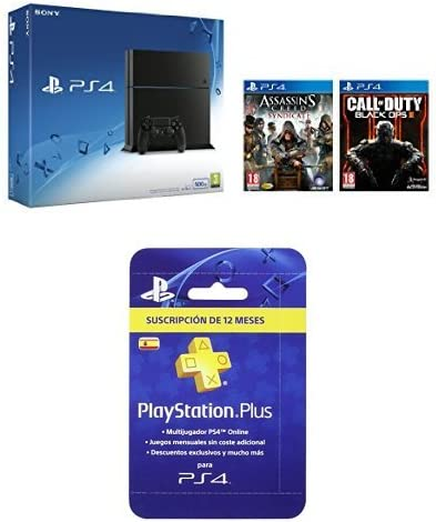 PlayStation 4 - Consola 500GB [Nuevo Chasis] + Call of Duty: Black ...