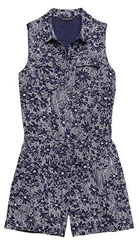 Banana Republic Women's - Sleeveless Printed Shorts Romper (Multiple Sizes Available) (Banana Republic Sleeveless)